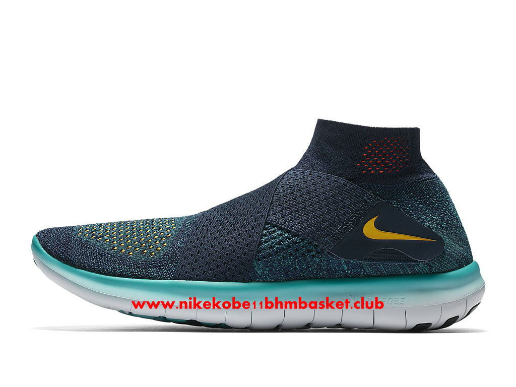 online retailer 120af 11c5a Running Shoes Nike Free RN Motion Flyknit 2017 Price Cheap For Men´s Blue   ...