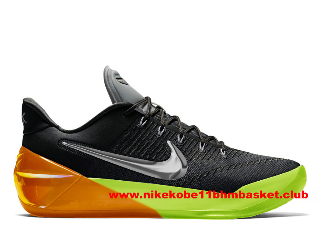 Chaussures Nike Kobe A.D. All Star Prix BasketBall Pas Cher Pour Homme Noir/Gris/Vert/Or 852425_A200