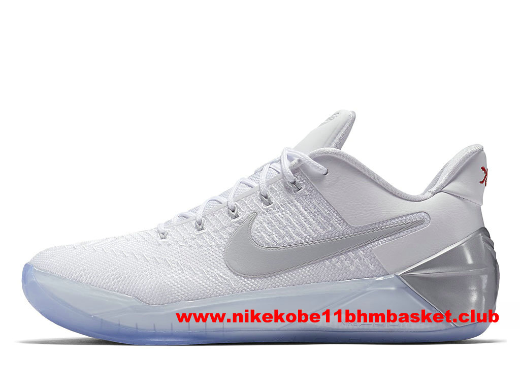 Chaussures Nike Kobe A.D. Prix BasketBall Pas Cher Pour Homme Blanc 852427_110