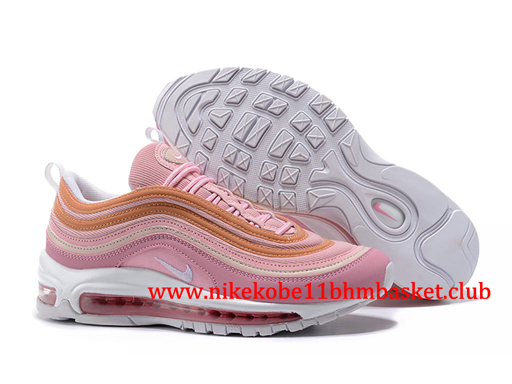 Femme Nike Air Max 97 Pas Cher Prix Rose Or 312834_ID008