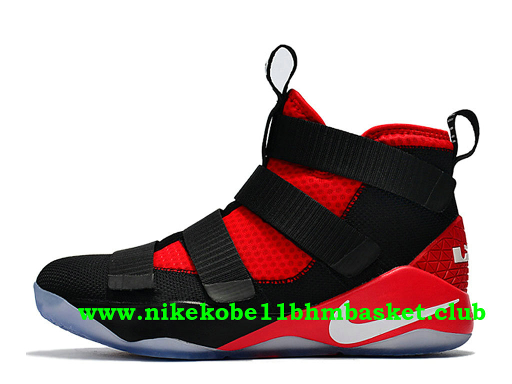 aeaa800a760 Men´s Nike Zoom LeBron Soldier 11 Price Cheap Black Red 897644 009 ...