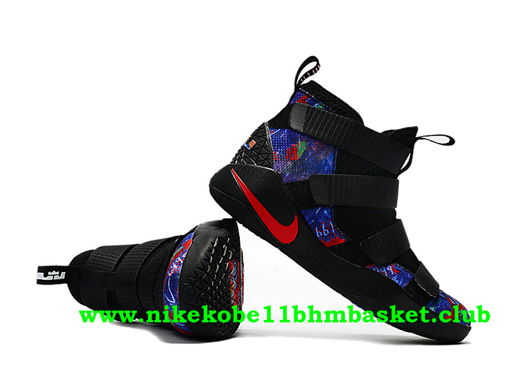 1df0a7716cf3 ... cheap mens nike zoom lebron soldier 11 price cheap black red blue  897644008 6876d 409a4
