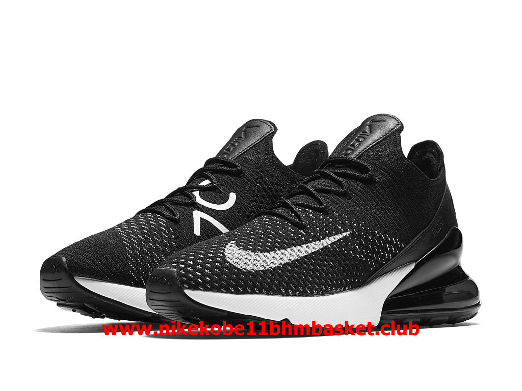 f2accabac6547 ... Nike Air Max 270 Flyknit Women´s Shoes Price Cheap Black White  AH6803 001 ...