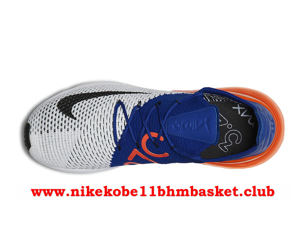 new arrival 94828 957cf ... Nike Air Max 270 Flyknit Men´s Price Cheap Blue Black Orange  ...