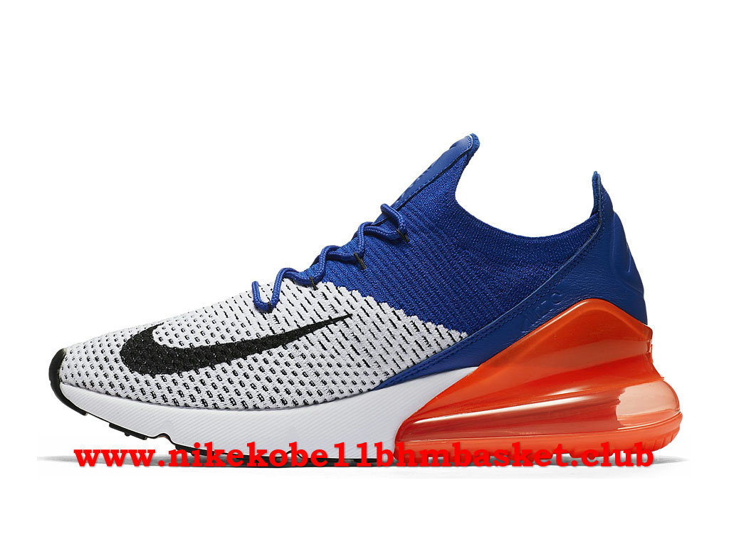 sale retailer dce97 564e2 Nike Air Max 270 Flyknit Men´s Price Cheap Blue Black Orange  ...