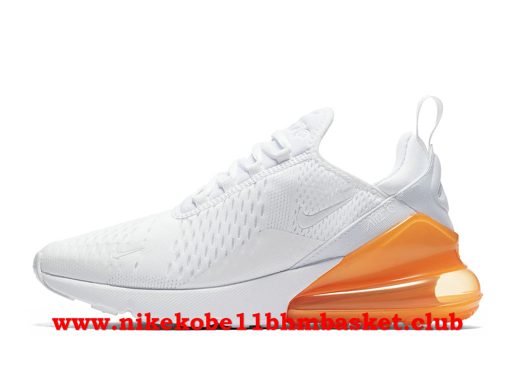 nike air max 270 femme blanche orange