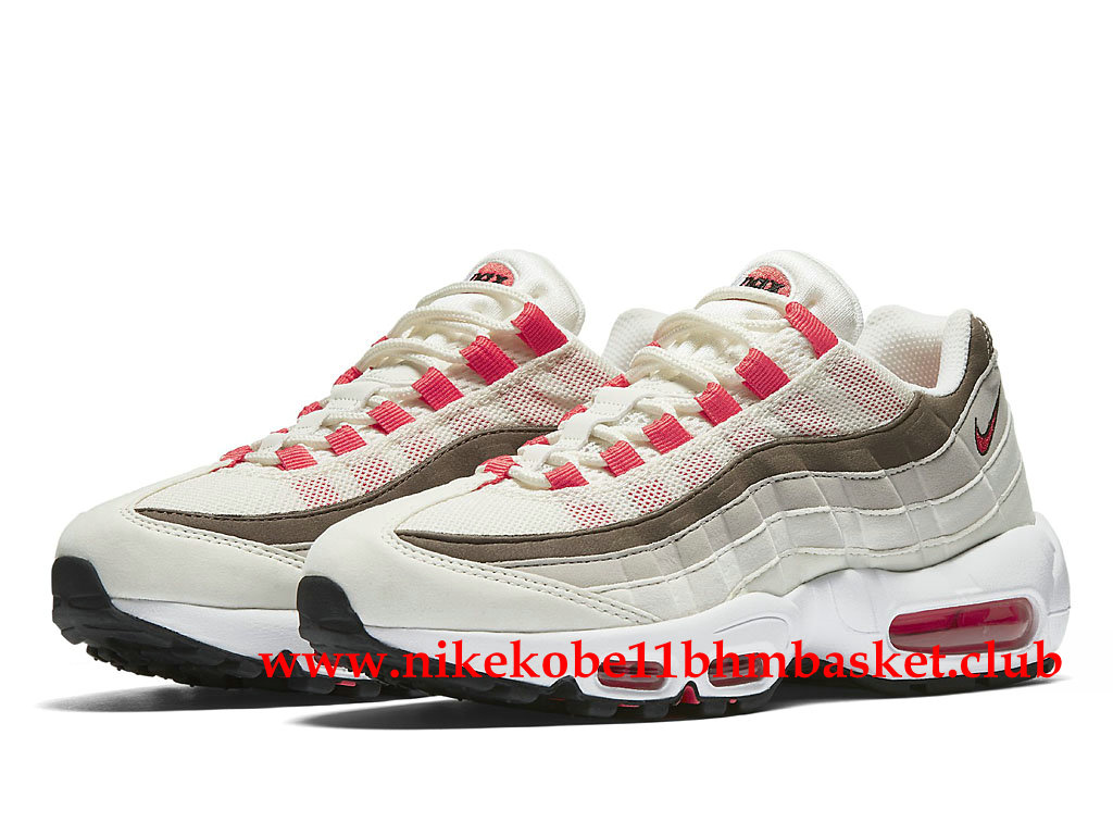 ... Nike Air Max 95 Women´s Cheap Price Beige White Pink Brown 307960_102  ...