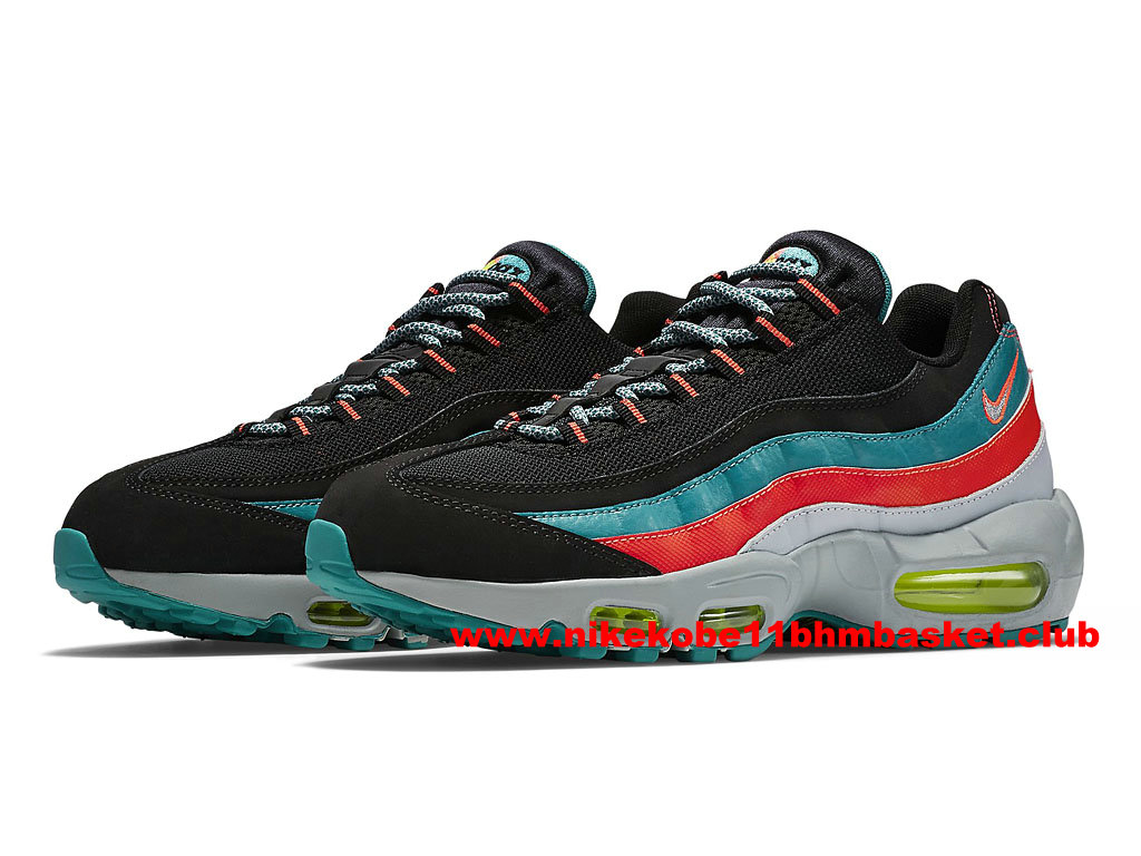 competitive price ca549 00c06 Nike Air Max 95 Men´s Price Cheap Black/Red/Blue/Grey 749766-002 ...