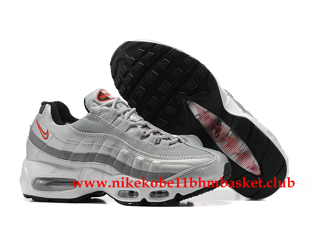 new style 7186f 65794 ... Nike Air Max 95 Women´s Cheap Price Silver Grey Black Red 307960ID009  ...