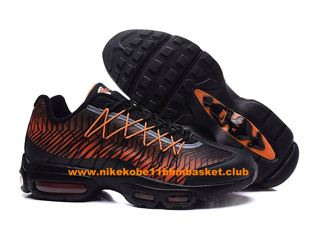 outlet store d486b f486d ... Nike Air Max 95 Ultra Jacquard Men´s Price Cheap Black Orange 749771-  ...