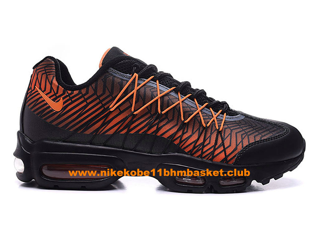 74233e7b976b8 Nike Air Max 95 Ultra Jacquard Men´s Price Cheap Black/Orange 749771- ...