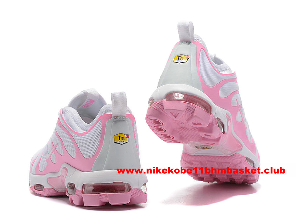 99adf7158f3a94 ... hot nike air max plus tn ultra womens cheap price pink white a51c3 ad00b