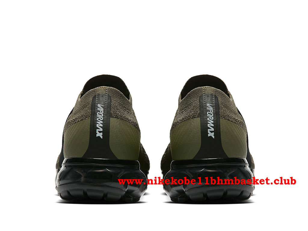 60bdcd0c232c2 ... Nike Air VaporMax Flyknit MOC Women´s Cheap Price Olive Green Black  AA4155 300 ...