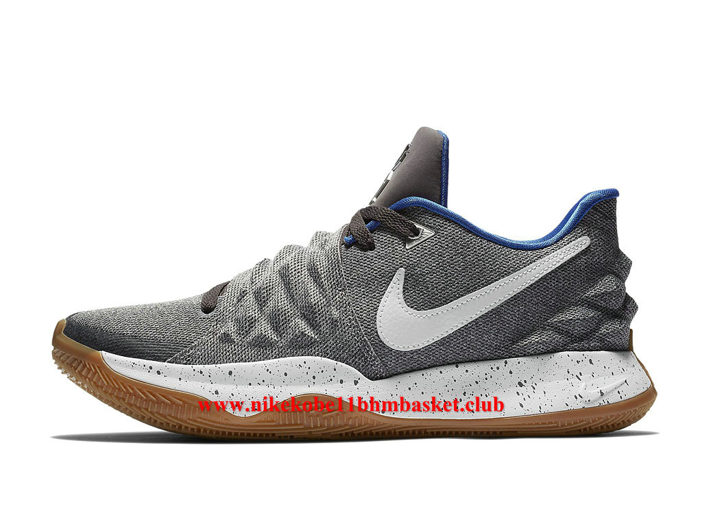 Nike Kyrie Low Chaussures Homme Prix Pas Cher Uncle Drew Gris/Blance/Bleu AO8979_005