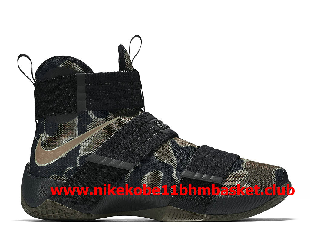 31defa95003b Nike LeBron Soldier 10 Men´s Cheap Price Olive Green 852400 022 ...