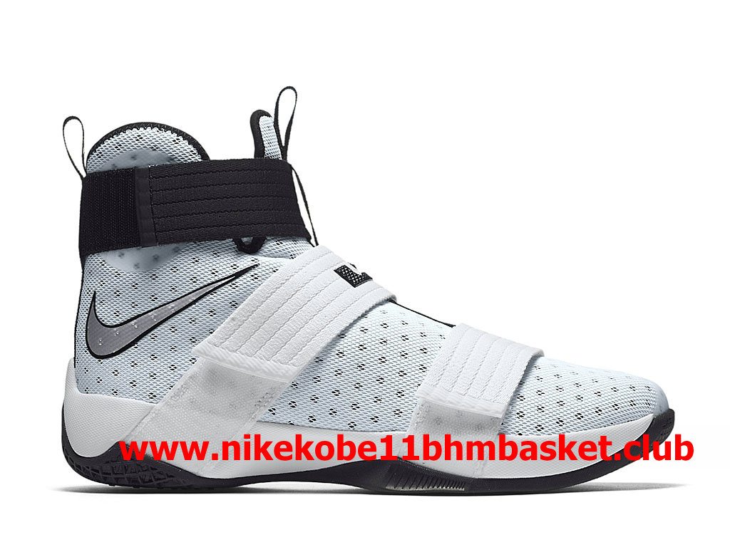 961db1b12858 Nike Zoom LeBron Soldier 10 Men´s Cheap Price White Black 844380 100 ...
