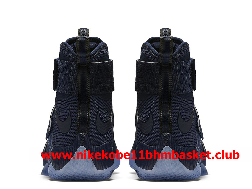 57103a9f1a5 ... Nike Zoom LeBron Soldier 10 Men´s Cheap Price Midnight Navy 844378 444  ...