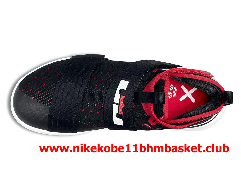 buy popular fb68c be2da ... real nike zoom lebron soldier 10 mens cheap price black red white  844374016 28105 0b813 ...