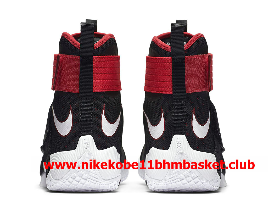d22cd9cc3c4 real nike zoom lebron soldier 10 mens cheap price black red white 844374016  acf4d eafaa